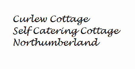 Curlew Cottage self catering holiday cottage accommodation near Hexham and Hadrian's Wall  sleeps 4  people in two bedrooms both en suite  - short stay breaks available